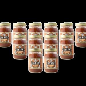 213 medium salsa case