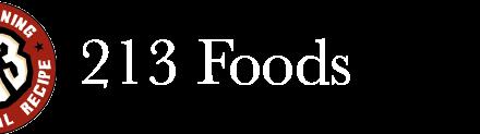 213 Foods logo