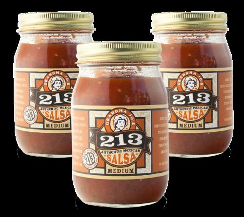 medium salsa 3 pack